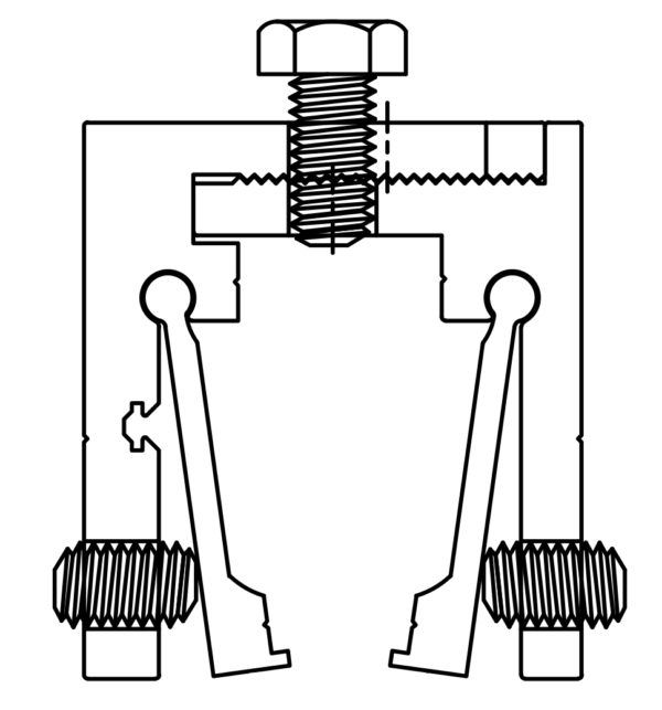 SI134L Clamp Drawing