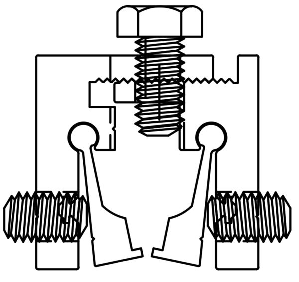 SI134SXS Clamp Drawing