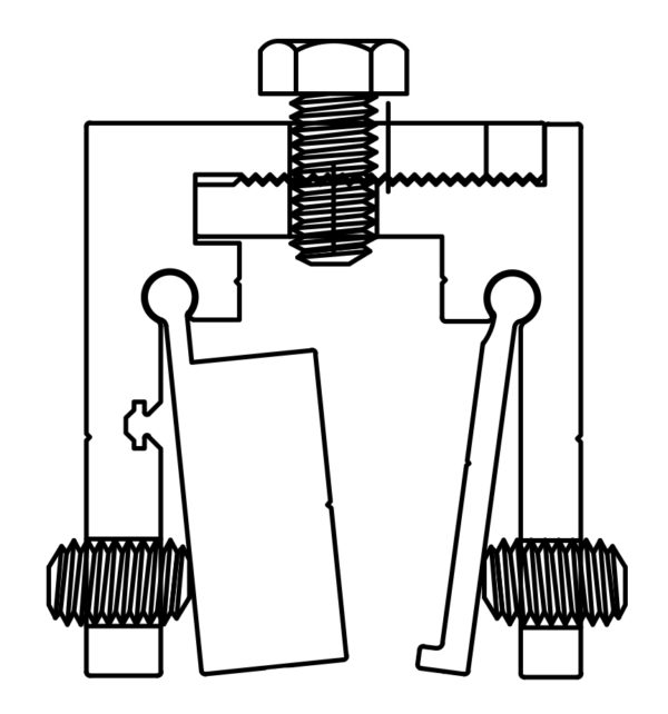 SI135L Clamp Drawing